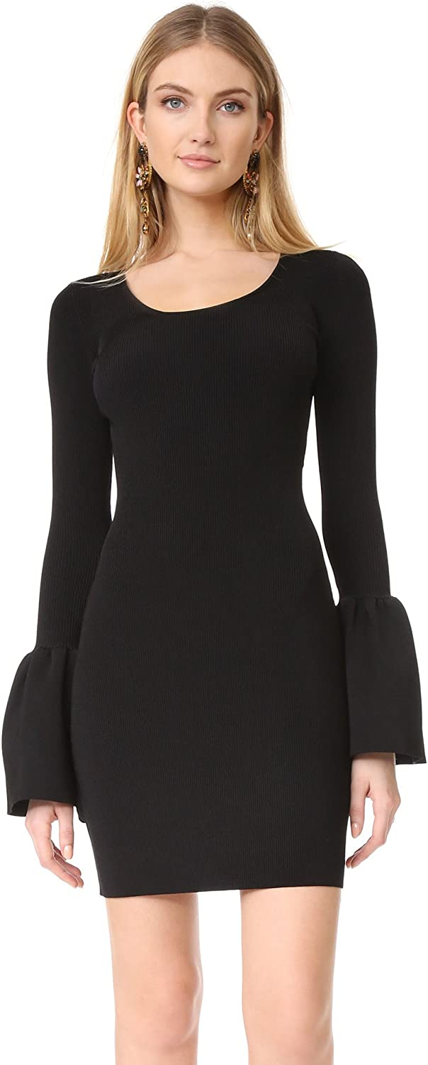 Elizabeth and James Womens Willomina Bell Sleeves Mini Cocktail Dress