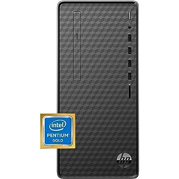 HP M01-F1014 Desktop, Intel Pentium Gold, 8GB RAM, 256GB SSD