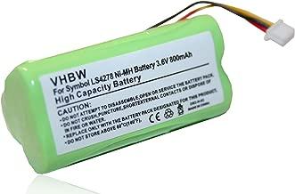 3.6V NiMH vhbw Akku für Babyfon wie Motorola GP80AAAHC3BMXZ 800mAh