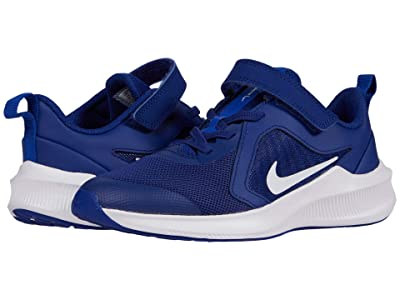 Nike Kids Downshifter 10 (Little Kid) (Deep Royal Blue/White/Hyper Blue) Kid