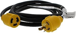 ABN 30 AMP Generator Cord – 10ft Heavy Duty Extension Cord Lock Plug, STW 3 Prong Locking Twist Plug RV Power Cord