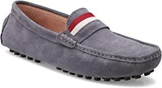 Members Only Men'sSuede Leather Driving Shoes