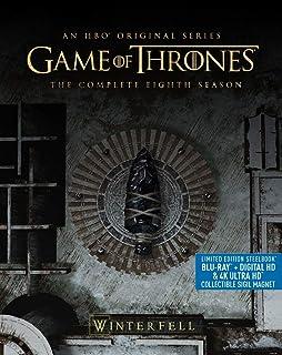 BR - GAME OF THRONES STEELBOOK S.8 [Blu-ray]
