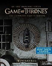 Game Of Thrones: Season 8 (Steelbook/4K Ultra HD/BluRay) [Blu-ray]