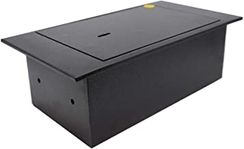 Yale Y-FLS0000 Floor Safe, Steel Construction, Designed to Be Fixed to Joists/Under Floor Boards, 4 Litre Capacity