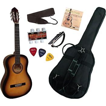 Pack Guitare Classique 4/4 Avec 6 Accessoires ~ Neuve & Garantie (sunburst)
