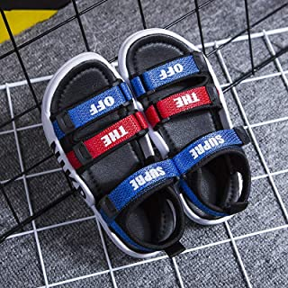 Wilindun 美国品牌 2019夏季新款潮酷彩色凉鞋男童女童休闲鞋26-37码