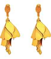 Oscar de la Renta - Large Impatiens C Earrings