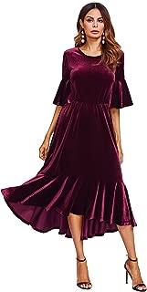 Best velvet midi dress Reviews