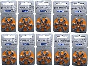 60 Stück Varta PowerOne P 13 - Hörgerätebatterie PR48 - 310 mAh 1,4 V