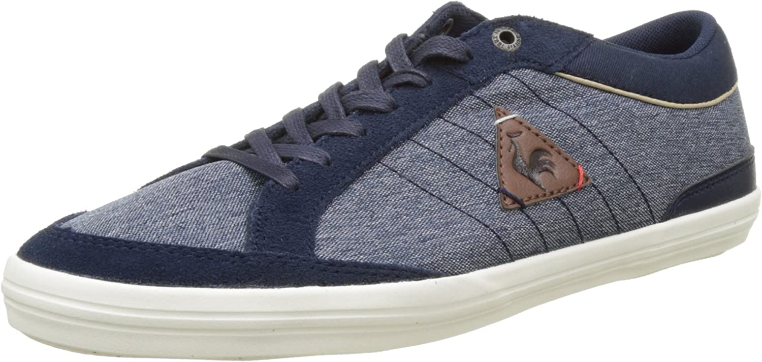 Le Coq Sportif Men's's Feretcraft 2 Tones Low-Top Sneakers