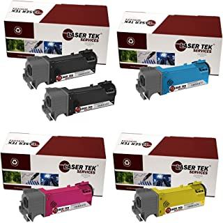 Laser Tek Services Compatible Phaser 6140 Toner Cartridge Replacement for the Xerox 106R01480, 106R01477, 106R01478, 106R01479. (2x Black, Cyan, Magenta, Yellow, 5-Pack)
