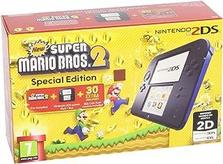 comprar comparacion Nintendo 2DS - Consola, Color Azul + New Super Mario Bros 2 (Preinstalado)