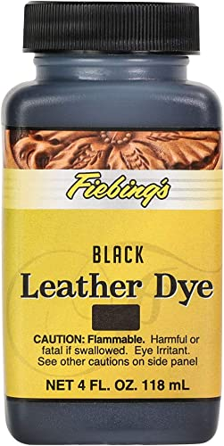 Fiebing's Leather Dye - Alcohol Based Permanent Leather Dye - 4 oz