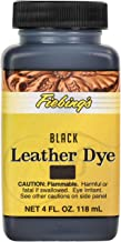 re dye black leather jacket