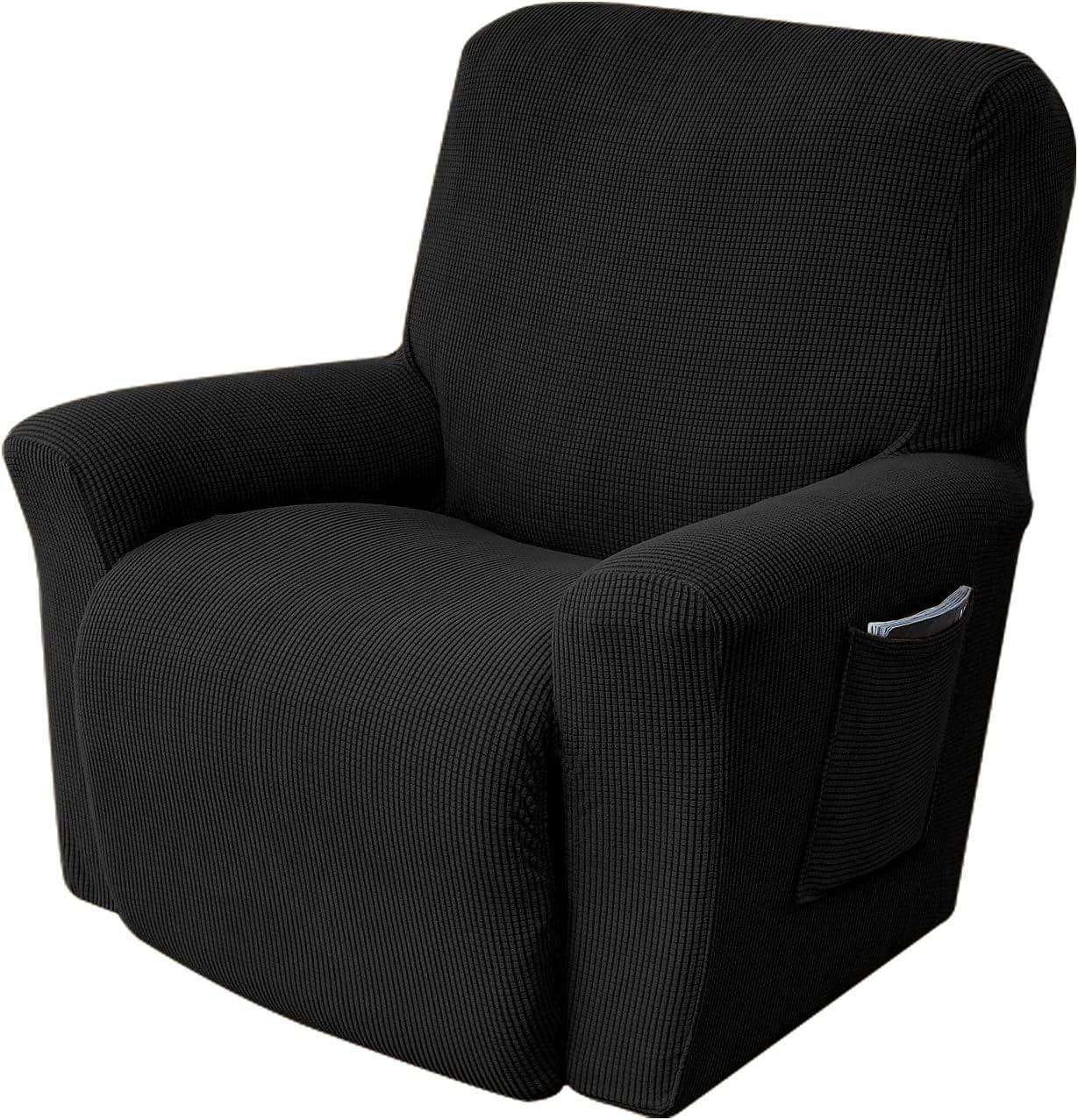 Stretch OFFicial shop Recliner Cover 1-Piece Soft Seat Sofa Single Sacramento Mall Couc