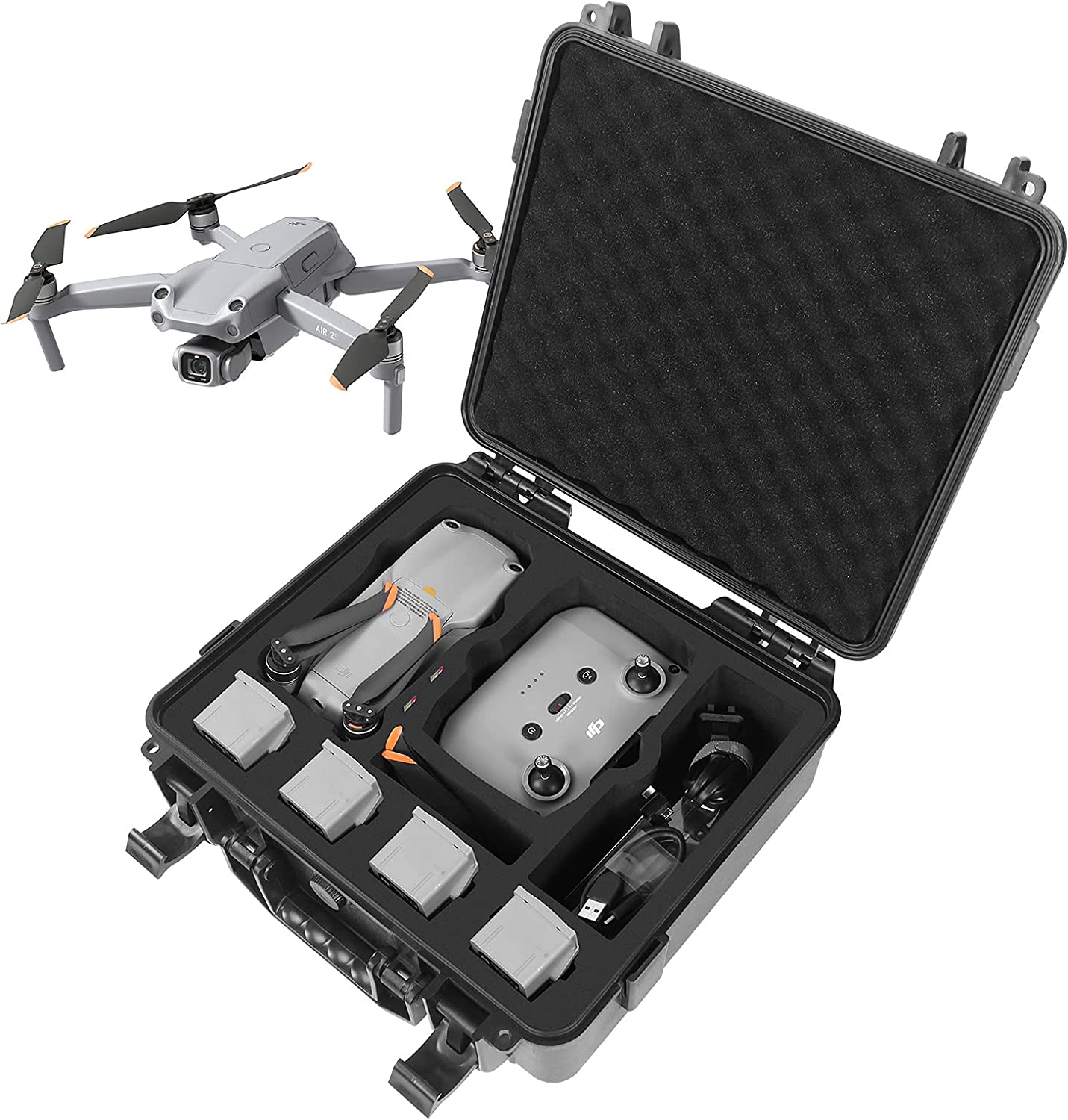 Smatree Waterproof Hard Carrying Case Sale special price Air DJI with Oakland Mall Compatible 2S