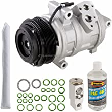 AC Compressor w/A/C Repair Kit For Ford Edge Lincoln MKX 2007 2008 2009 2010 - BuyAutoParts 60-81411RK NEW