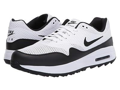 Nike Golf Air Max 1G (White/Black) Men