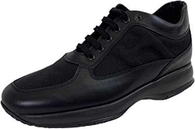 Hogan B73 Sneakers Uomo Interactive Black Shoes Men
