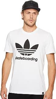 adidas Skateboarding Men's Clima 3.0 Tee White 2 T-Shirt