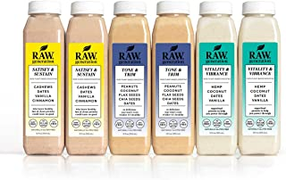 3-Day Protein Smoothie Variety Pack by Raw Generation® - 100% Plant-Based Protein Smoothies/Healthiest Way to Satisfy Your Appetite & Curb Your Cravings/Jumpstart a Healthier Diet