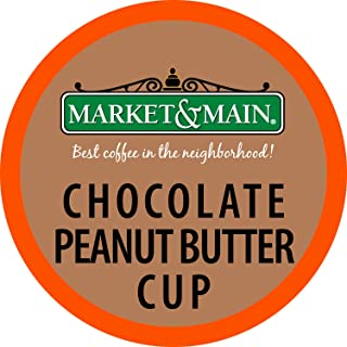 Market & Main One Cup (Chocolate Peanut Butter Cup, 18 Count)