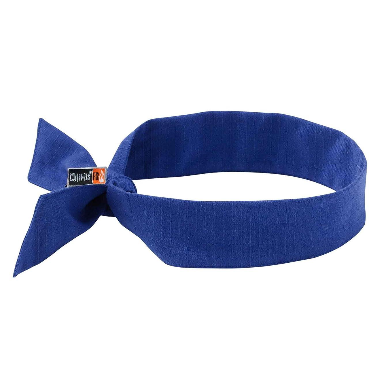 Cooling Bandana, Fire Resistant, Evaporative Polymer Crystals for Cooling Relief, Tie for Adjustable Fit, Ergodyne 6700FR