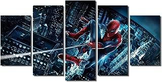 Picture Sensations® Framed Canvas Art Print, Spider-Man Marvel Comic Book Spiderman Movie Super Hero Wall Canvas Art - 60