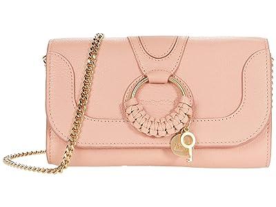 See by Chloe Hana Phone Wallet Crossbody (Fallow Pink) Handbags