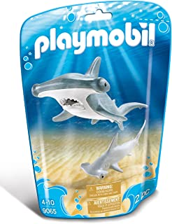PLAYMOBIL® Hammerhead Shark with Baby Building Set