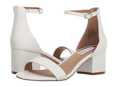 Steve Madden Irenee Sandal (White Leather) Women