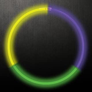Yellow Windy City Novelties 22 Inch Glow Sticks Necklaces for Kids in Bulk Wholesale