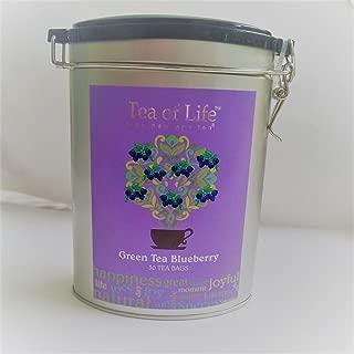 Tea of Life Green Tea Blueberry Tin