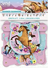 Unique Spirit Riding Free Jointed Party Banner Large, 1 Ct.
