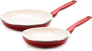 GreenPan CC002326-001 Rio Ceramic Frying Pan, 8