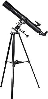 Bresser Taurus NG 90/900 Spiegeltelescoop, met Zonnefilter, MPM-Montage, 3-Potig Statief en Smartphone-Camera-Adapter, Zwart