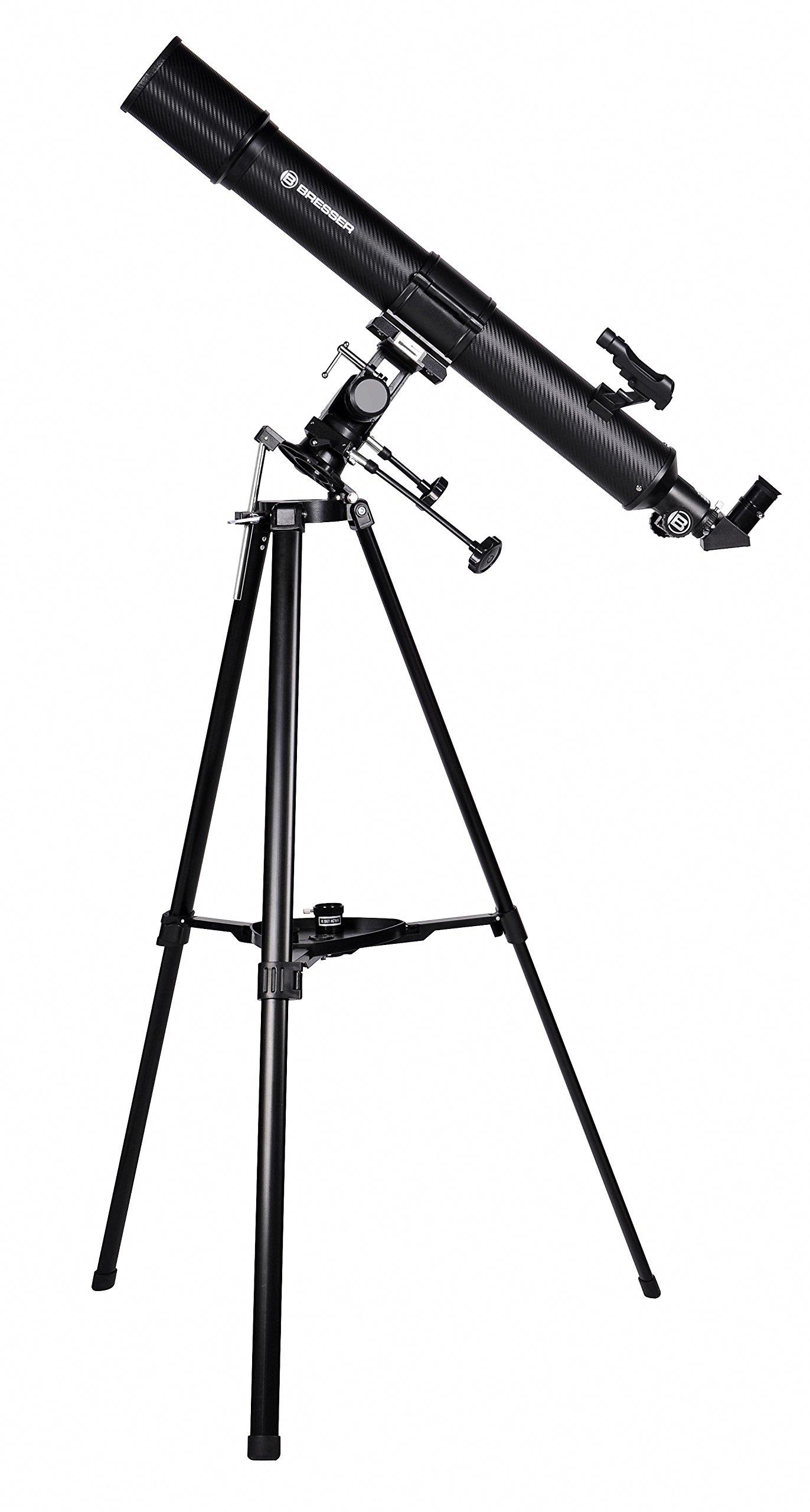 Bresser Taurus 90/900 NG - Telescopio refractor con Adaptador de ...