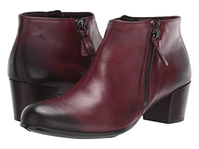 ECCO Shape M 35 Ankle Boot (Bordeaux) Women