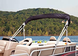 Dowco Marine 42006-02 Burgundy Red Custom Fit Pontoon Boat AFT Bimini Top Canopy Storage Boot: Lowe SUNCRUISER