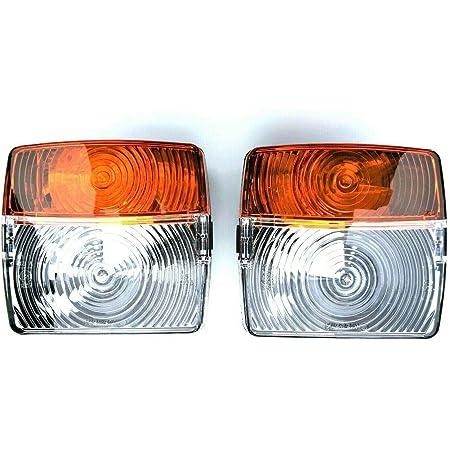 2x Blink Positionsleuchte Traktor Schlepper Oldtimer Blinklicht Universal Set Auto