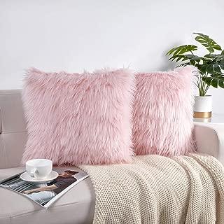 Best pink fur lumbar pillow Reviews