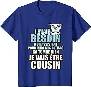 Enfant j'avais besoin d'un assistant je vais être cousin T-Shirt