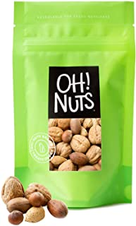 Oh! Nuts Mixed Nuts in Shell Variety Pack | Low-Carb, High-Protein Keto Snacks | Jumbo-Sized Premium Unshelled Nuts in Res...