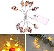 FFX Novelty Lighting Home Interior Decoration Atmosphere String Lights LED Conch Decorative Lantern, Specification:1m 10 L...