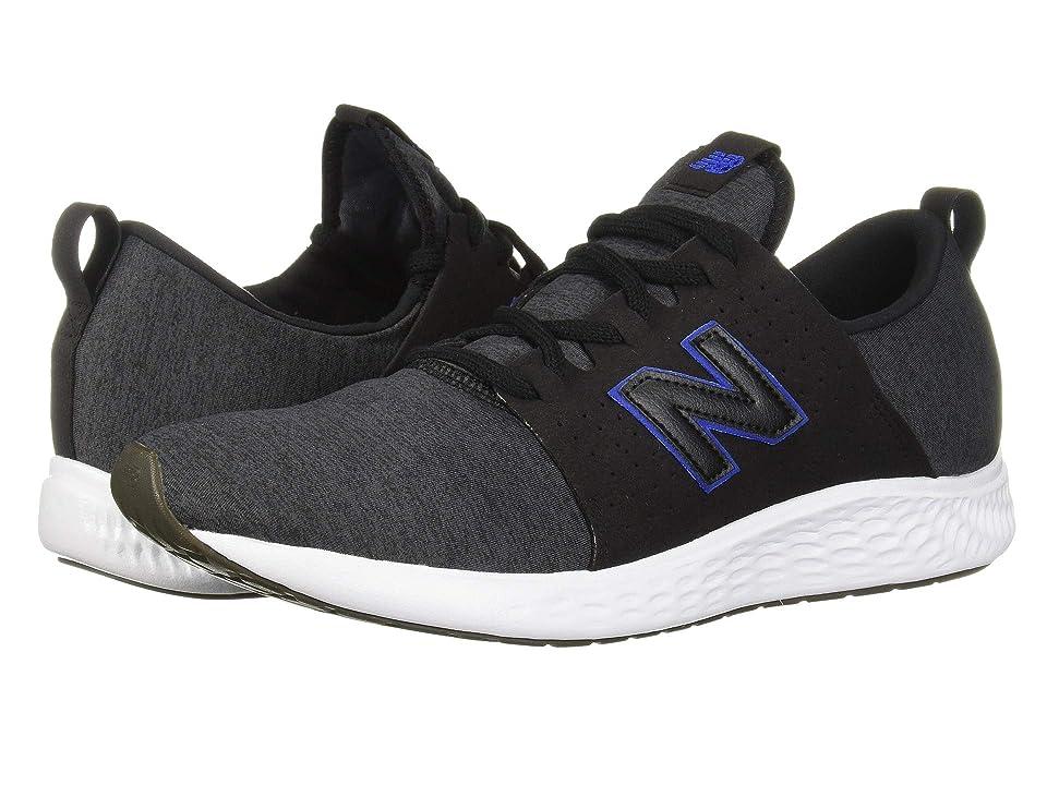 New Balance Fresh Foam Sport (Black/Team Royal) Men's Shoes
