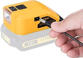 Sponsored Ad – DCB090 Battery Adapter USB Power Source Converter Compatible with Dewalt 18V Lithium-ion Batteries 10.8V/1...