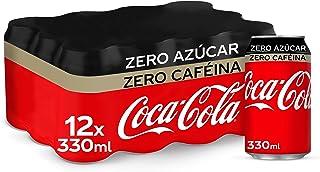 Coca-Cola Zero Azúcar Zero Cafeína Lata - 330 ml (Pack de