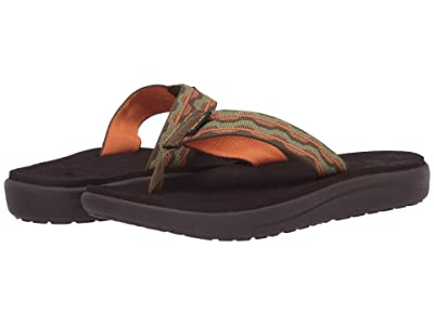 Teva Kids Voya Flip (Little Kid/Big Kid) (Kishi Dark Olive) Kid