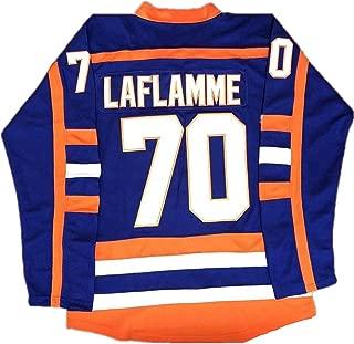 Thug #69 Glatt Halifax Jersey Goon Doug #70 Xavier Laflamme ICE Movie Hockey Jersey Stitched Blue S-3XL